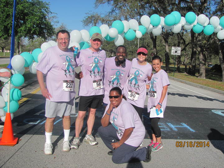 The Best 5 K Team Ever!!! T-Shirt Photo