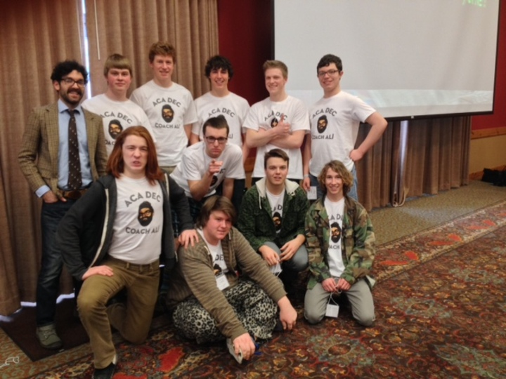 Mount Horeb High School Academic Decathlon Team T-Shirt Photo