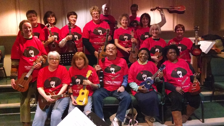 Ukes Make A Difference T-Shirt Photo