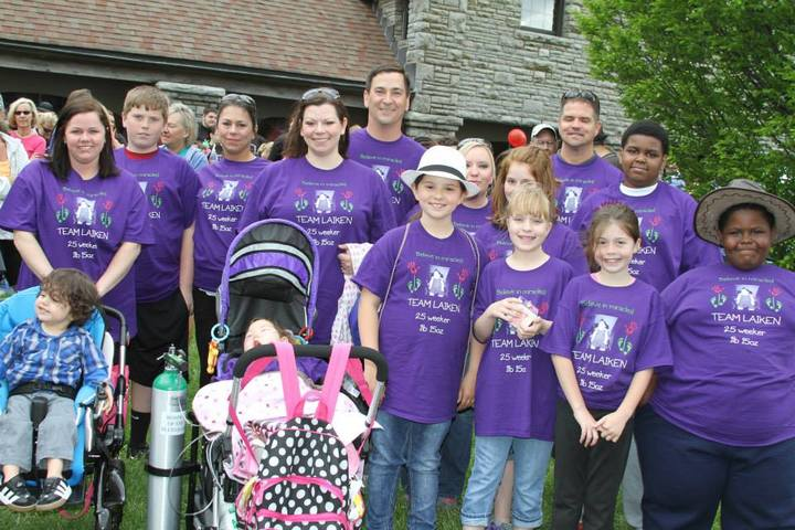 Purple For Preemies T-Shirt Photo