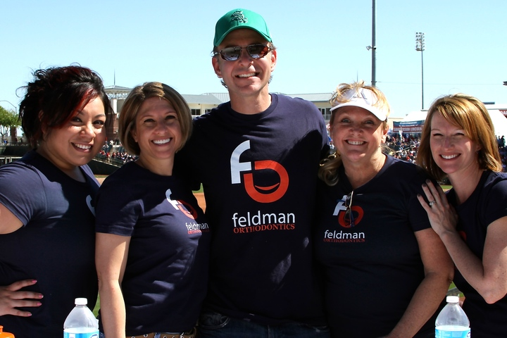 Feldman Orthodontics At Spring Training T-Shirt Photo