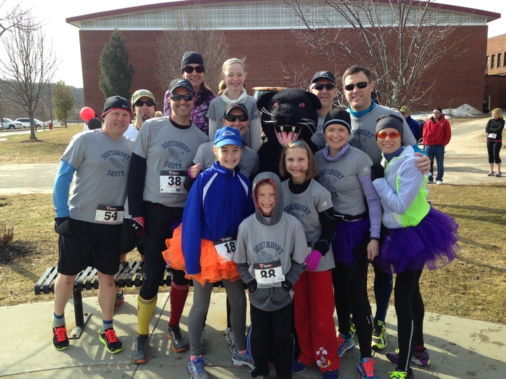 5 Kotm Run With The Panthers 5 K T-Shirt Photo