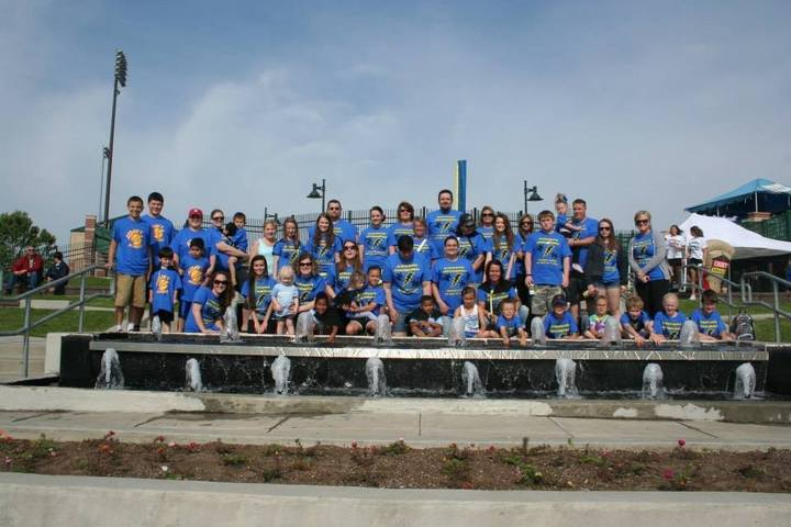 Schimming Superheroes Team Walking For Autism Awareness!  T-Shirt Photo