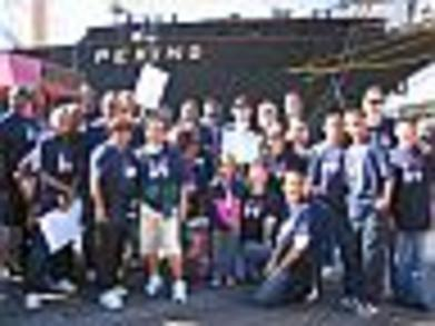 Nkf Walk   South Street Seaport 10/21/07 T-Shirt Photo