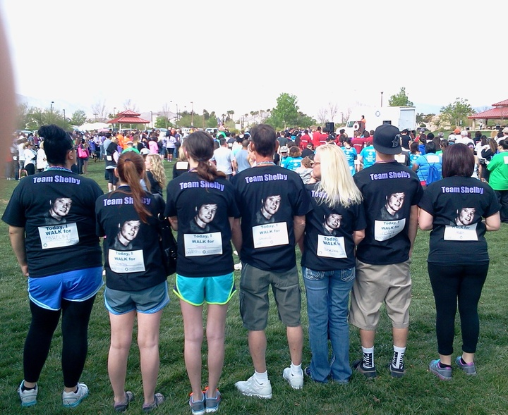 Out Of Darkness Walk T-Shirt Photo