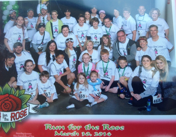 Run For The Rose 2014 T-Shirt Photo