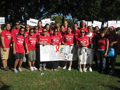 Aids Walk Los Angeles 2007   Fun Bunch! T-Shirt Photo