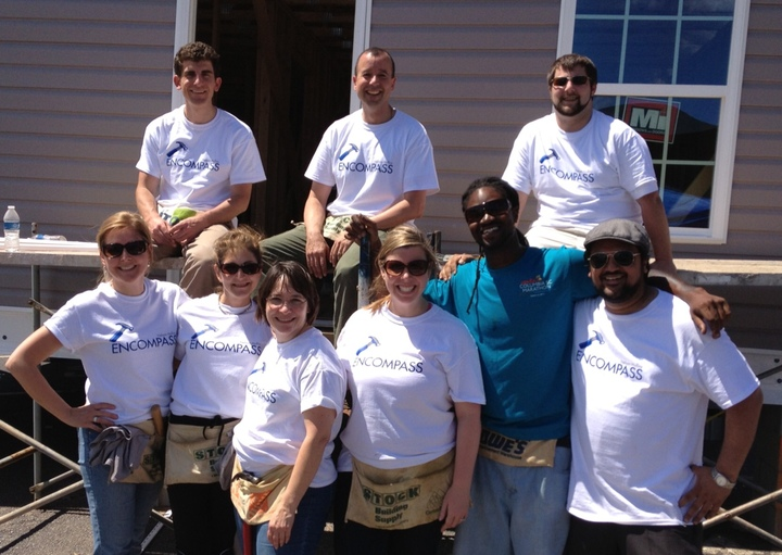 Encompass Habitat Team T-Shirt Photo