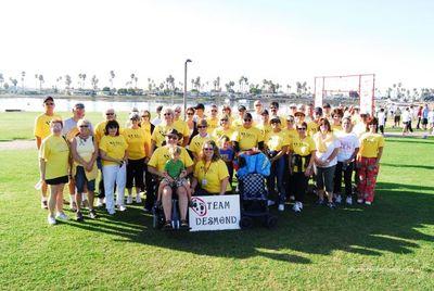 Team Desmond San Diego Als Walk 2007 T-Shirt Photo