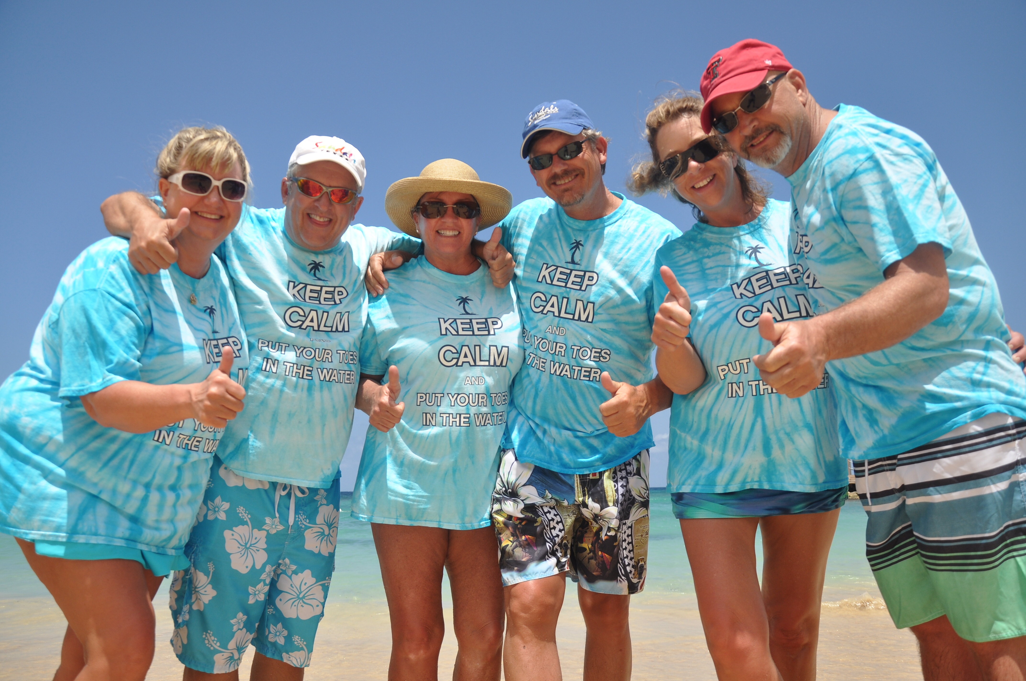 Design your own t-shirt keep calm - Keep Calm On The Beach In Jamaica T Shirt Photo