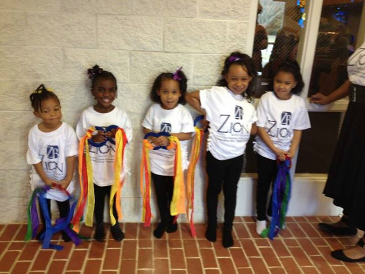 The Baby Angels Of Zion Praise Dancers T-Shirt Photo