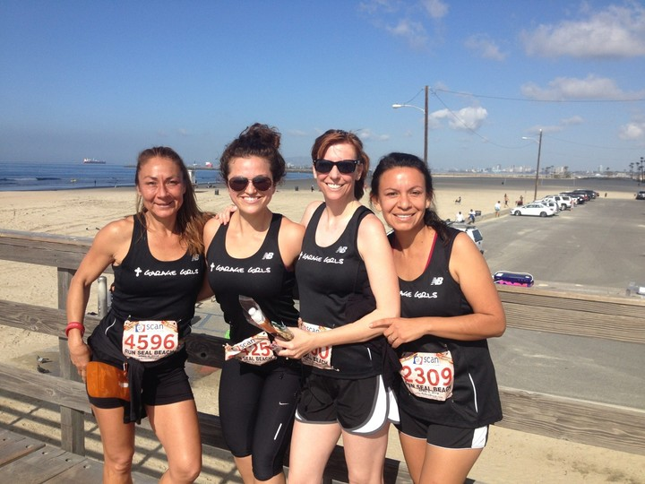 Seal Beach, Ca 10 K Run T-Shirt Photo