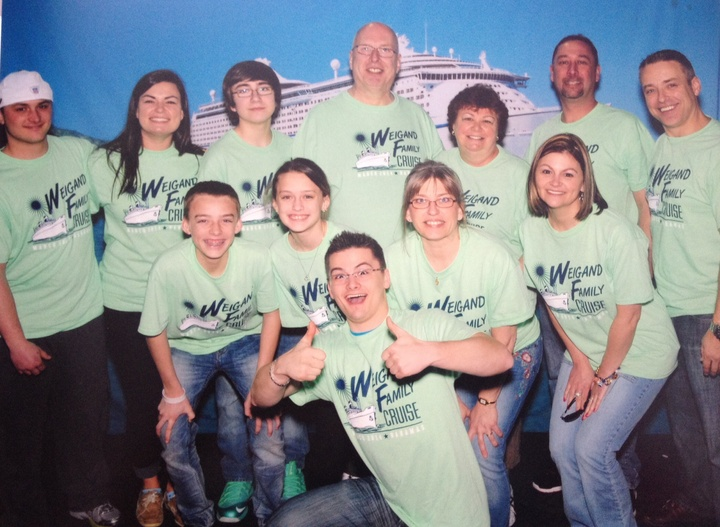 Weigand Family Cruise   It's All About The Big Guy! T-Shirt Photo