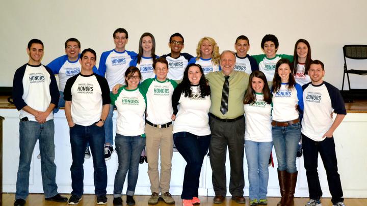 Honors Ambassador Program 2014 T-Shirt Photo