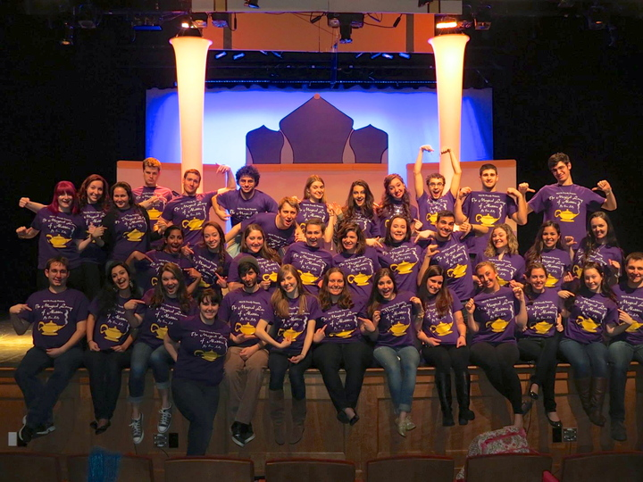 "Marist College ""The Magical Lamp Of Aladdin"" Spring 2014 T-Shirt Photo"