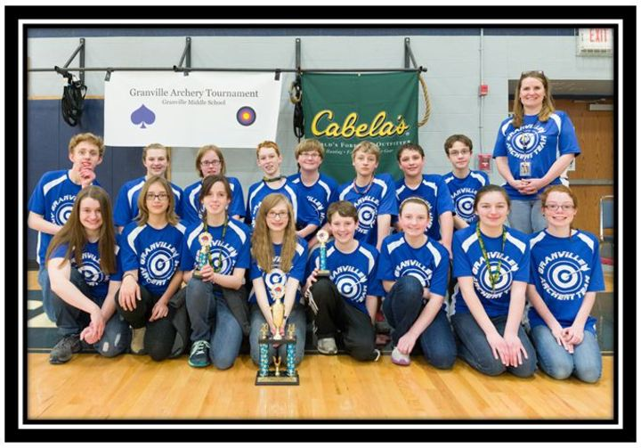 Granville Middle School First Place T-Shirt Photo