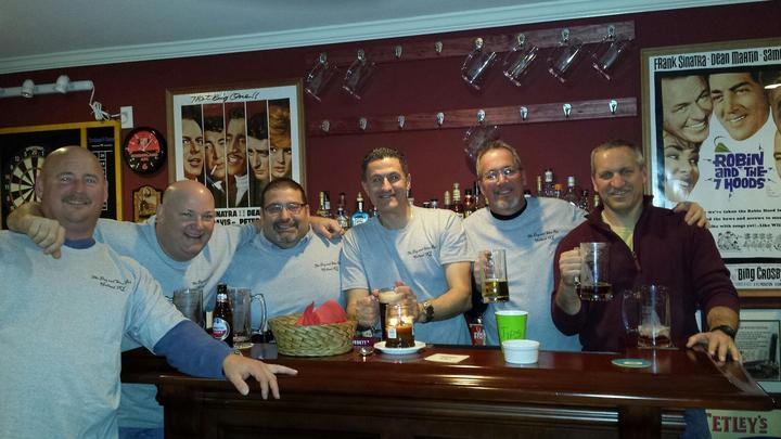Guys At The Dog & Shoe Pub T-Shirt Photo