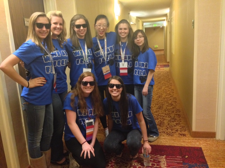 Grandview At Fccla State Leadership Conference In Denver, Colorado T-Shirt Photo