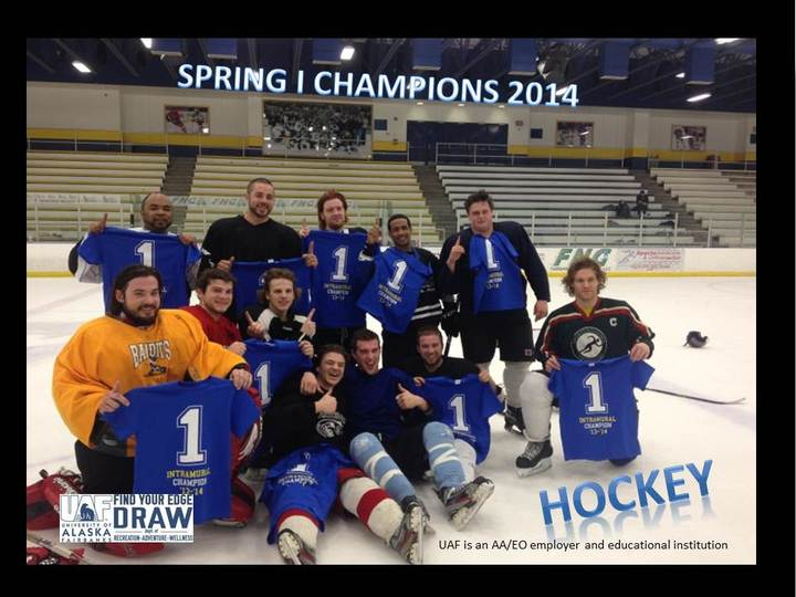 Uaf Intramural Hockey T-Shirt Photo
