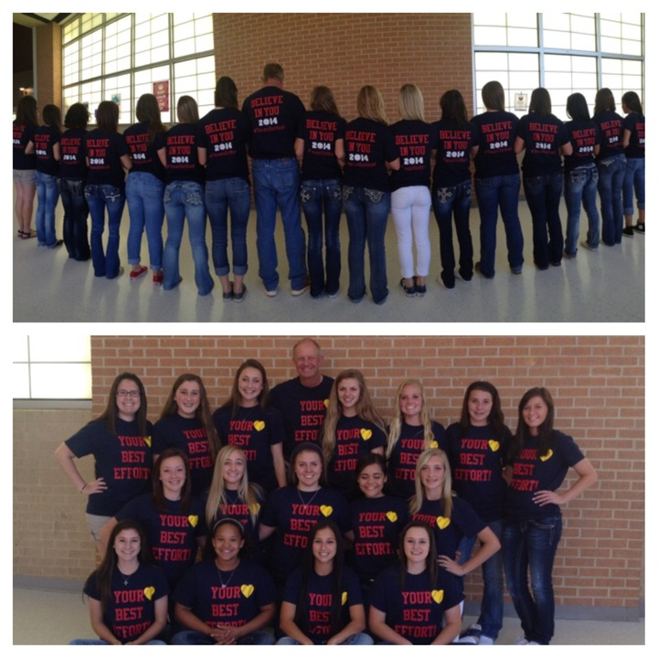 Texan Softball!!  T-Shirt Photo