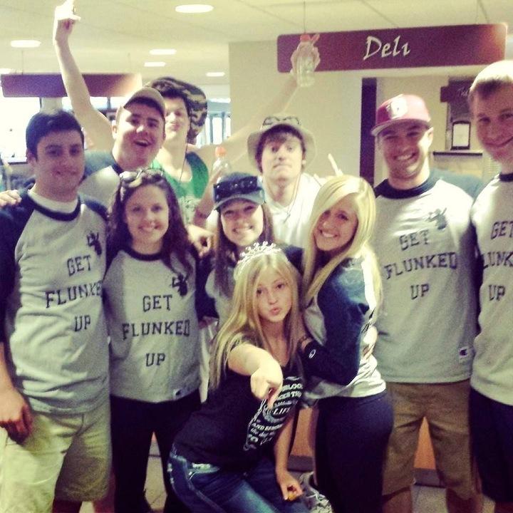 Flunk Day Baseball Team Coe College T-Shirt Photo