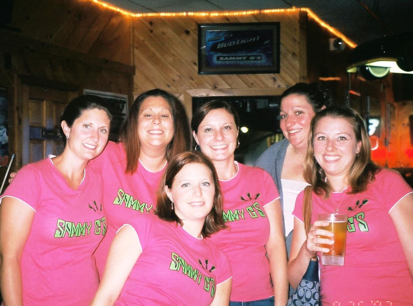 Design your own t-shirt female - Sammy G Girls Darts Rny T Shirt Photo