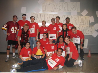 Dunder Mifflin Arlington Branch Fun Run Race For The Cure T-Shirt Photo