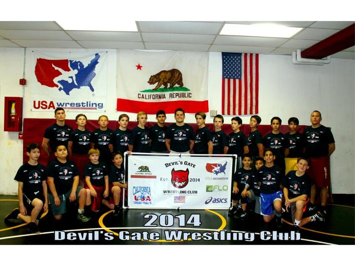 Devil's Gate Wrestling Club 2014 T-Shirt Photo