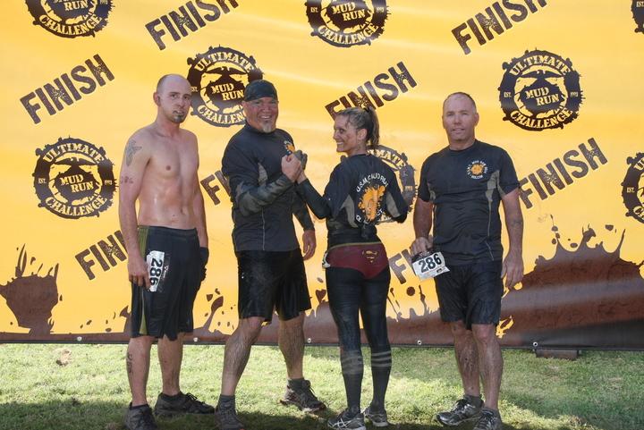 Holcim Usmc Mud Run Team T-Shirt Photo