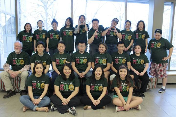 St. Olaf College's Hmong Culture Outreach Student Organization T-Shirt Photo