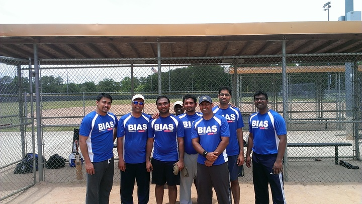 Bias Cricket Team T-Shirt Photo