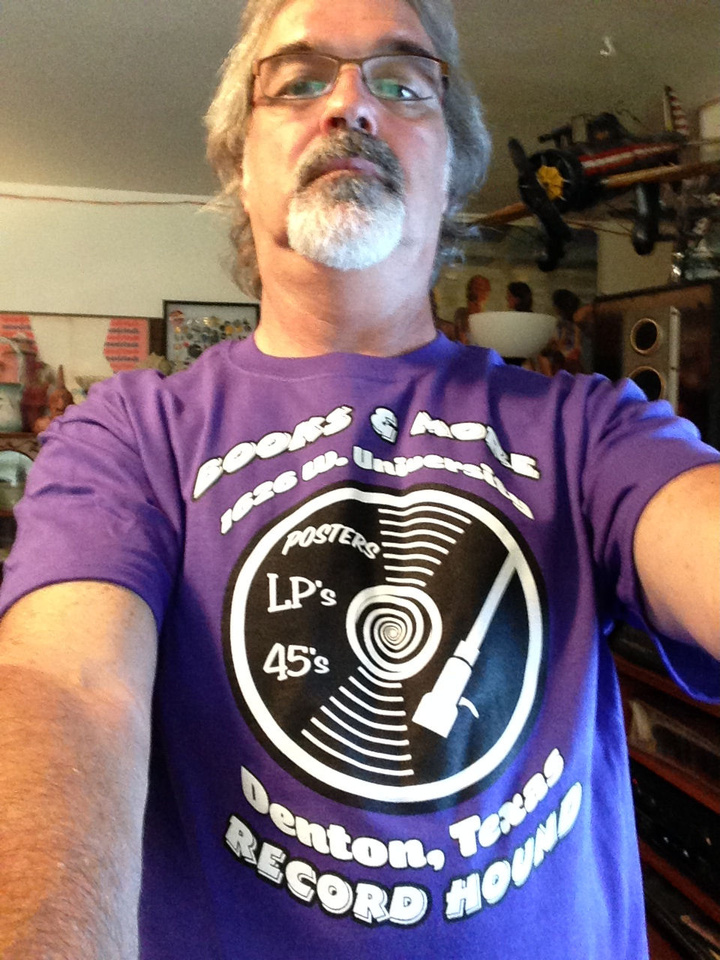 Record Hound T-Shirt Photo