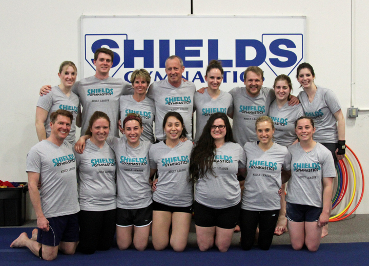 Shields Gymnastics Adult League! T-Shirt Photo