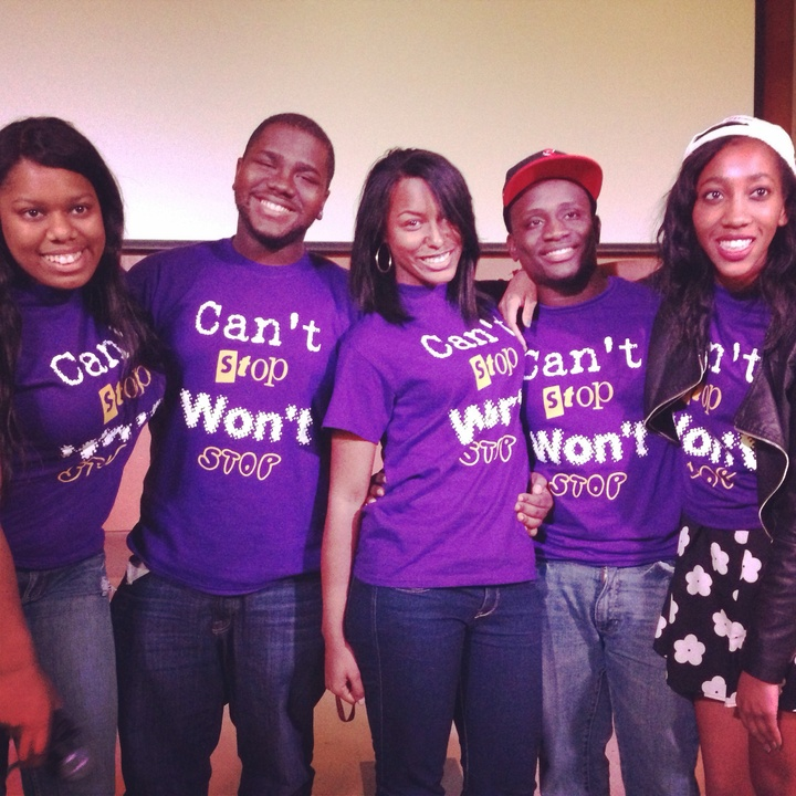 Black Family Weekend: Cant Stop Wont Stop T-Shirt Photo