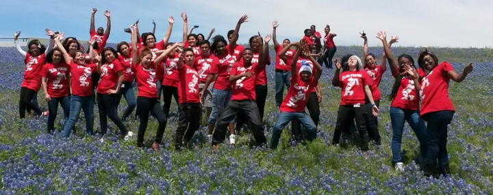 Club Fresh In The Texas Bluebonnets T-Shirt Photo