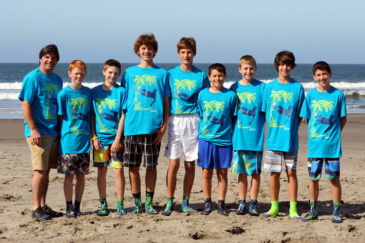Soccer At Stinson Beach T-Shirt Photo