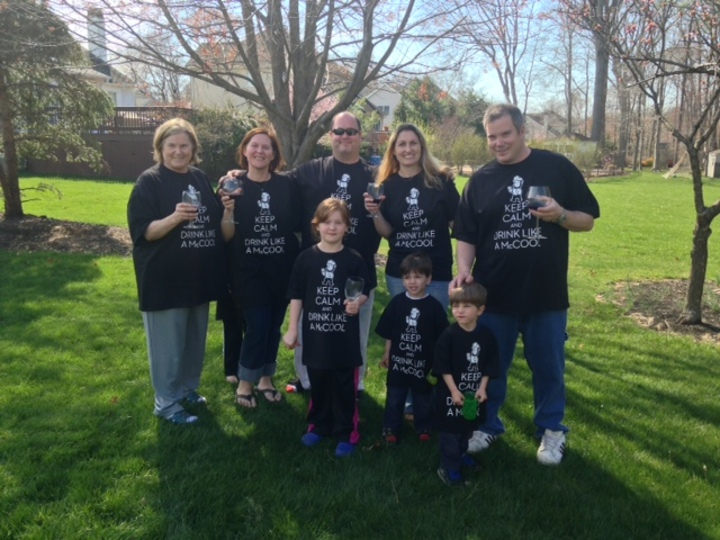 A Mc Cool Family Easter T-Shirt Photo