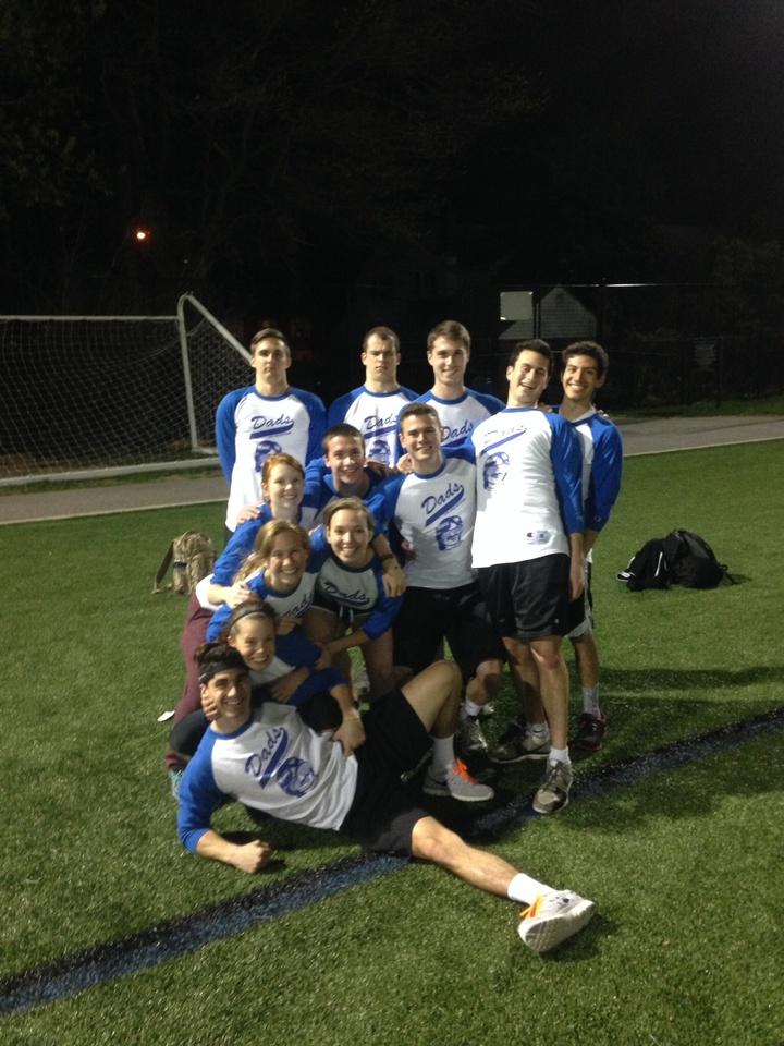 Dads Win Softball! T-Shirt Photo