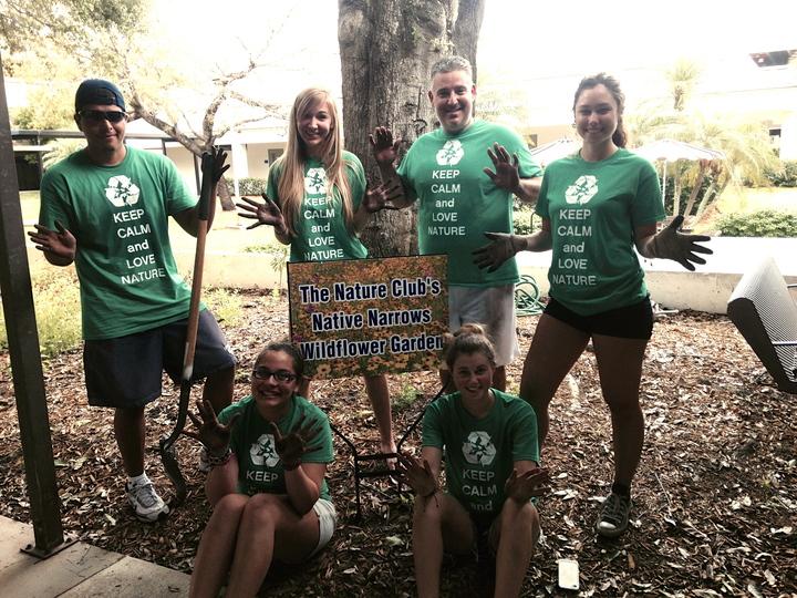 Nsu Earth Day Planting 2014 T-Shirt Photo