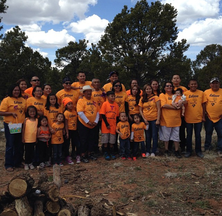 Edison Family Easter 2014 T-Shirt Photo