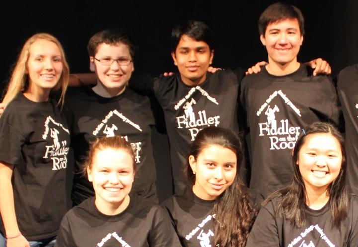 Christian Heritage Academy, Fiddler On The Roof, Tech Team T-Shirt Photo
