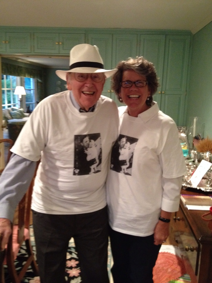 Happy 90th B Day, Dad! T-Shirt Photo