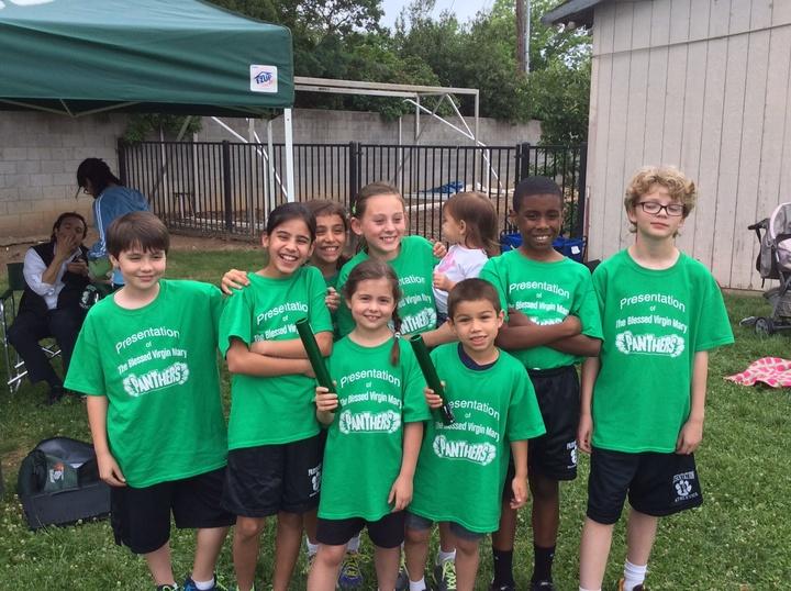 Presentation School Track Team T-Shirt Photo