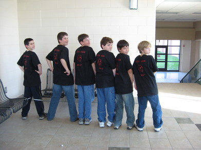 Shrine Academy Robotics Team T-Shirt Photo