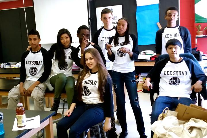 Brooklyn Prospect Charter School I Ms. Lee's Advisory Team T-Shirt Photo