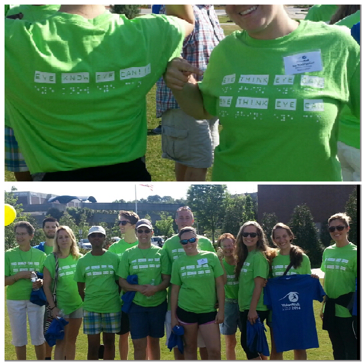 Vision Walk 2014 T-Shirt Photo