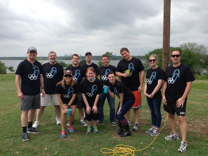 P+W Dallas Olympics   Team Black T-Shirt Photo