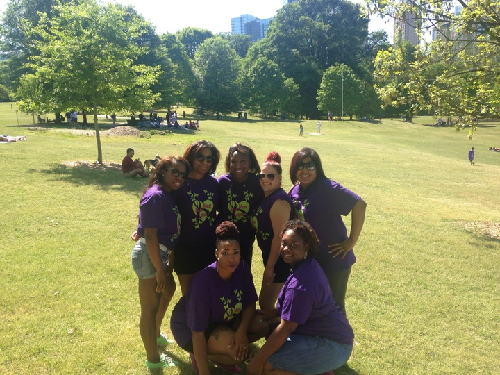 Lupus Walk Atlanta 2014 T-Shirt Photo