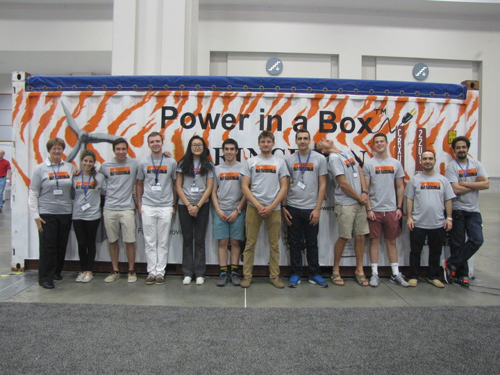 Power In Box T-Shirt Photo