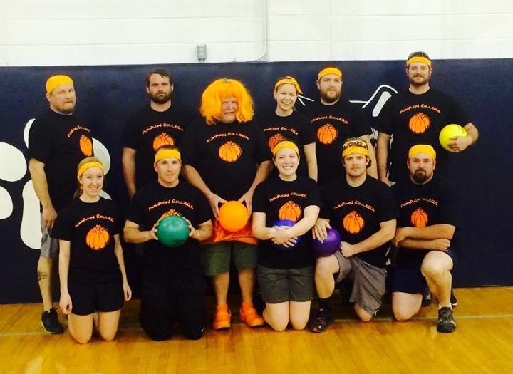 Pumpkin Rollers! T-Shirt Photo